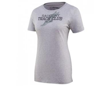 Футболка женская Saucony Track Club 81436